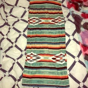 Urban Outfitters Ecote Aztec Print Skirt